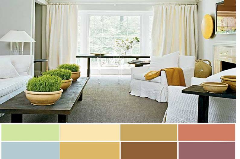 Цвет также влияет на оценку размеров пространства