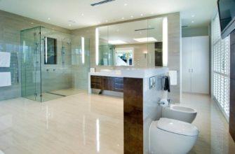 Вашу ванную легко можно дополнить также с душевой кабинкой