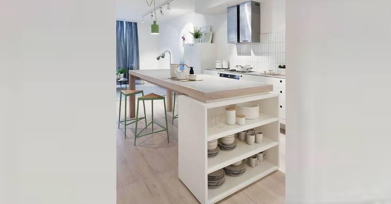 Место для хранения кухонной утвари