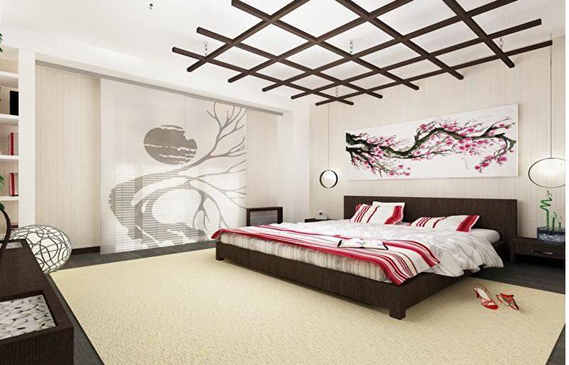 потолок с элементами