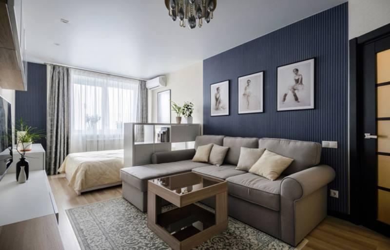 Определить главную зону: спальная или гостиная