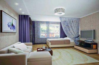 Расположить спальную зону как можно дальше от дверей
